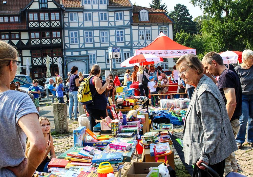 Flohmarkt am ZUM. Symbolbild Foto: Archiv