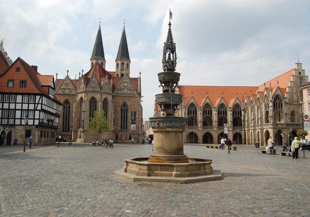 Spielplan der Komödie am Altstadtmarkt. Foto: Braunschweig Stadtmarketing GmbH