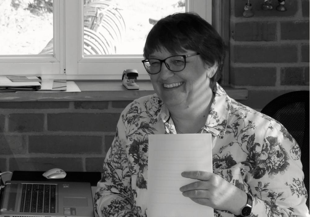 Elke Zacharias widmete 28 Jahre ihres Lebens der Gedenkstätte. Foto: Gedenk- und Dokumentationsstätte KZ Drütte
