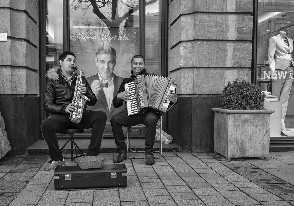 Foto: Straßenmusiker, Thomas Kurek