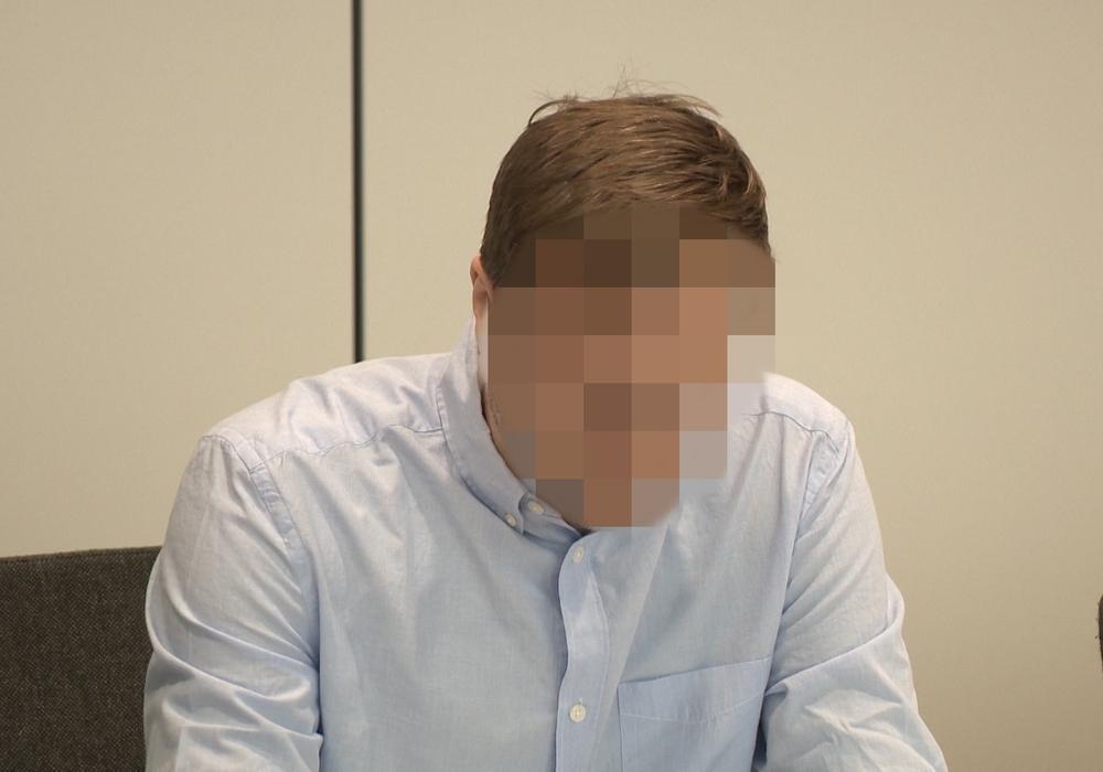 Der verdächtige Wolfenbütteler beim Prozessauftakt. Nun ist er offiziell freigesprochen Foto: aktuell24 (BM)