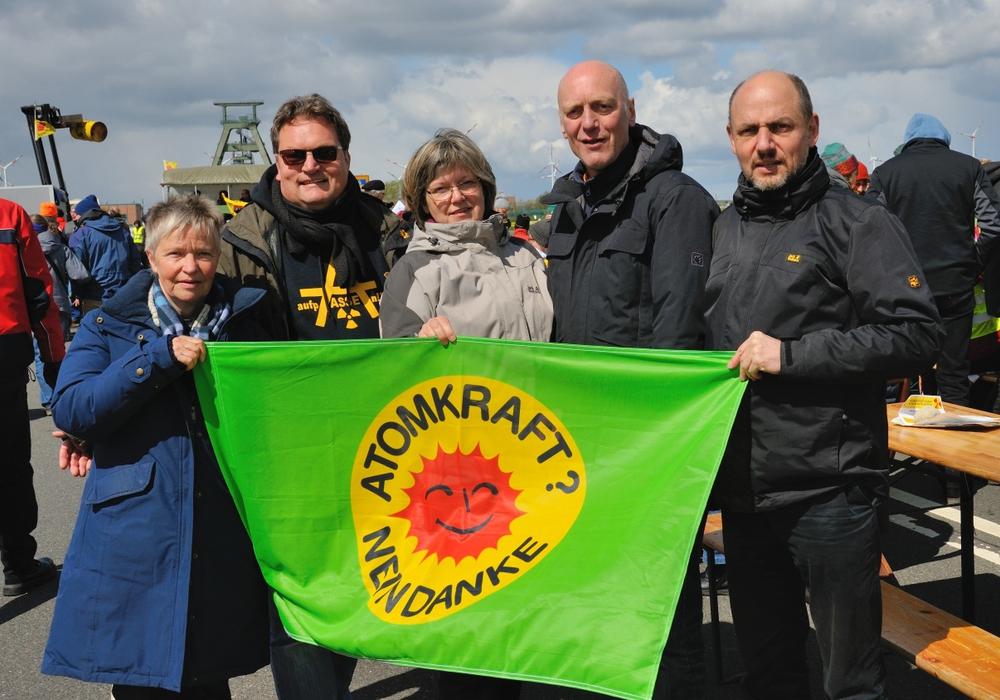 Christiana Wagner, Michael Boos, Elisabeth Gerndt, Bertold Brücher, Reinhard Gerndt. Foto: Privat