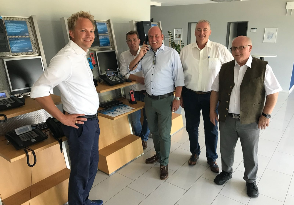 Christian Auerswald, Steffen Maschke, Holger Bormann, Frank Oesterhelweg und Wolfgang Gürtler. Foto: Privat