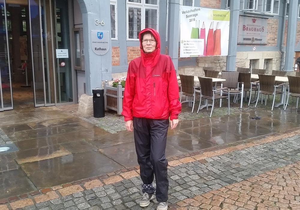 Verzichtet drei Wochen auf ihr Auto:  Dr. Dagmar Meyer. Foto: Stadt Wolfenbüttel