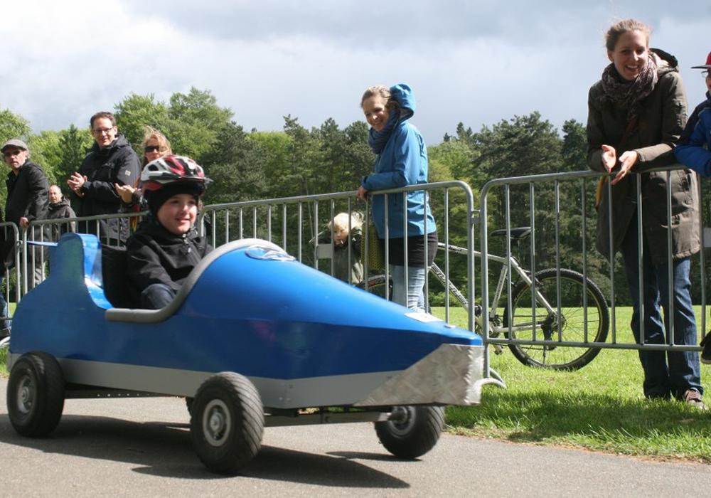 Ab sofort kann man sich für das Seifenksitenrennen am Nußberg anmelden. Foto: Anke Donner