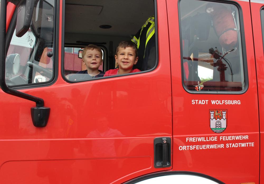 Am 5. August lädt die Feuerwehr zum Tag der offenen Tür. Symbolfoto: Eva Sorembik