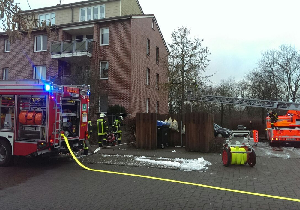 Die Feuerwehr rückte mit großem Gerät aus. Foto: Feuerwehr Vorsfelde