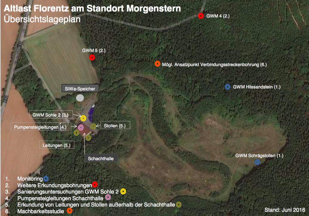 Ein Fachgutachter soll die Gefährdung auf der Deponie Morgenstern beurteilen. Foto: Landkreis Goslar