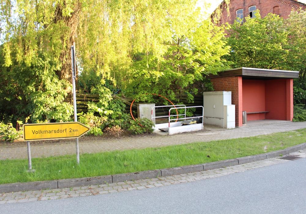 Am Schaperplatz in Rümmer soll schon bald ein Bücherschrank stehen. Foto: Julian Bergmeier