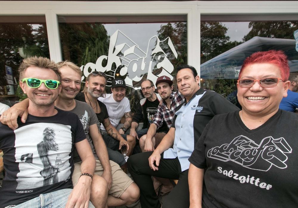 "Das Rockcafe hält unter anderem mit ""Nullbock"" jede Menge Punkrock bereit. Foto: R. Karliczek"