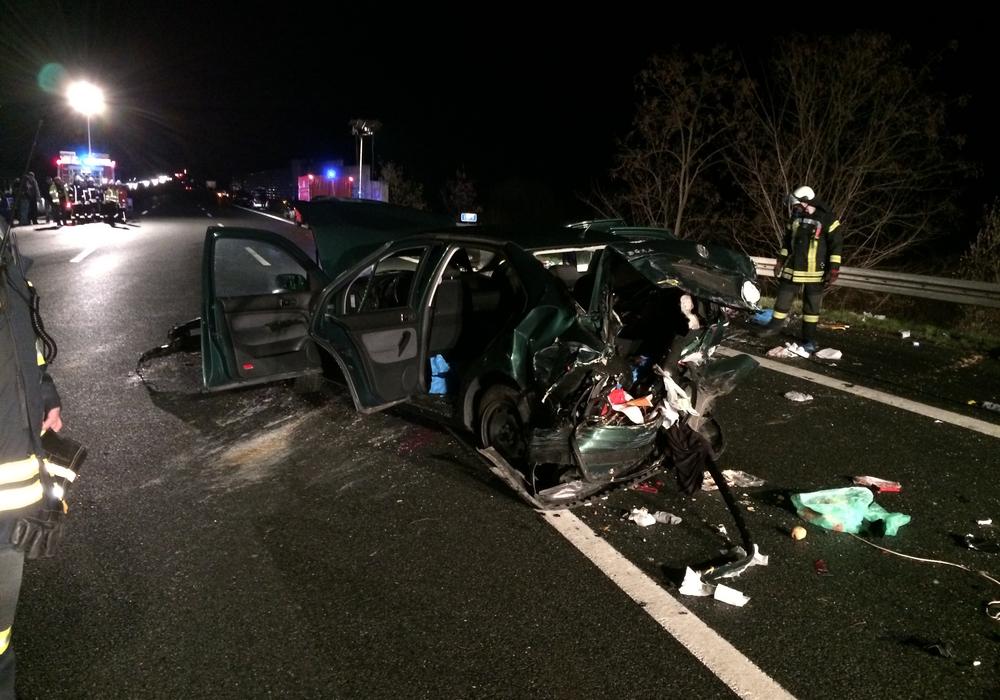 Unfall auf der A2, Foto: aktuell24 (BM)