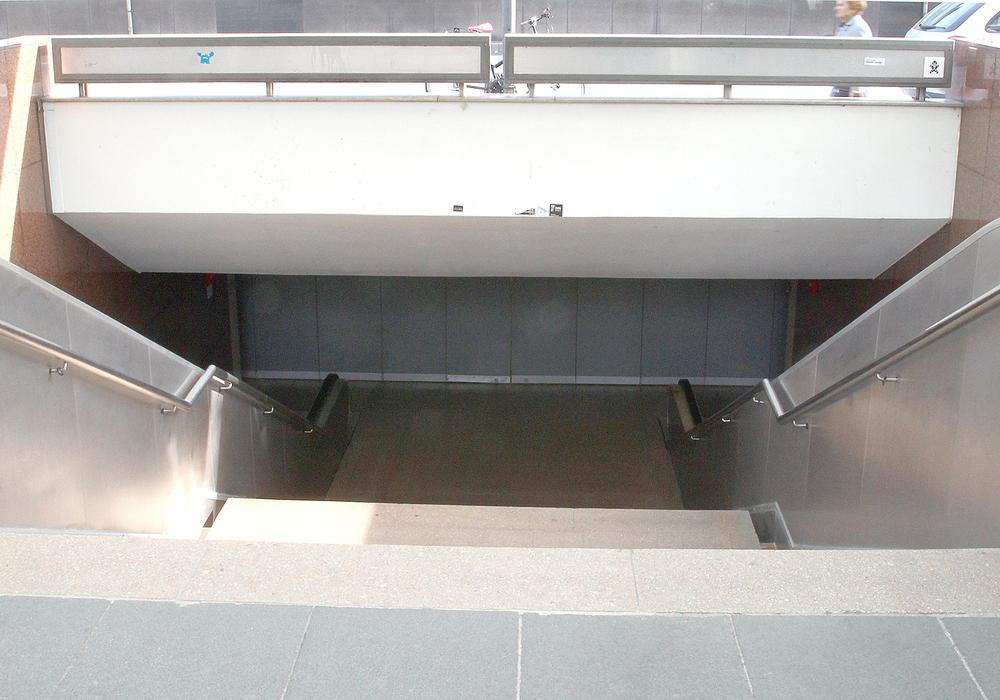 Der Bohlwegtunnel. Foto: Archiv/Thorsten Raedlein