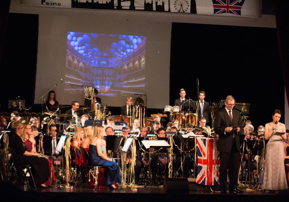 Das Stadtorchester gab sein Jahreskonzert in den Festsälen. Foto: Orchester