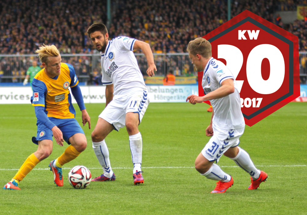 Wie haben Eintracht Braunschweig und Nik Omladic (li.) die 0:6-Pleite verarbeitet? Foto: Frank Vollmer
