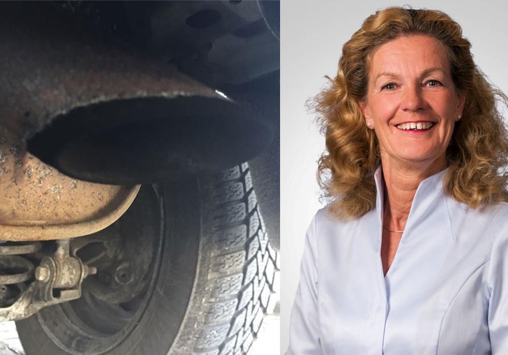 Elisabeth Heister-Neumann zum Dieselfahrverbot. foto: Anke Donner; CDU Helmstedt