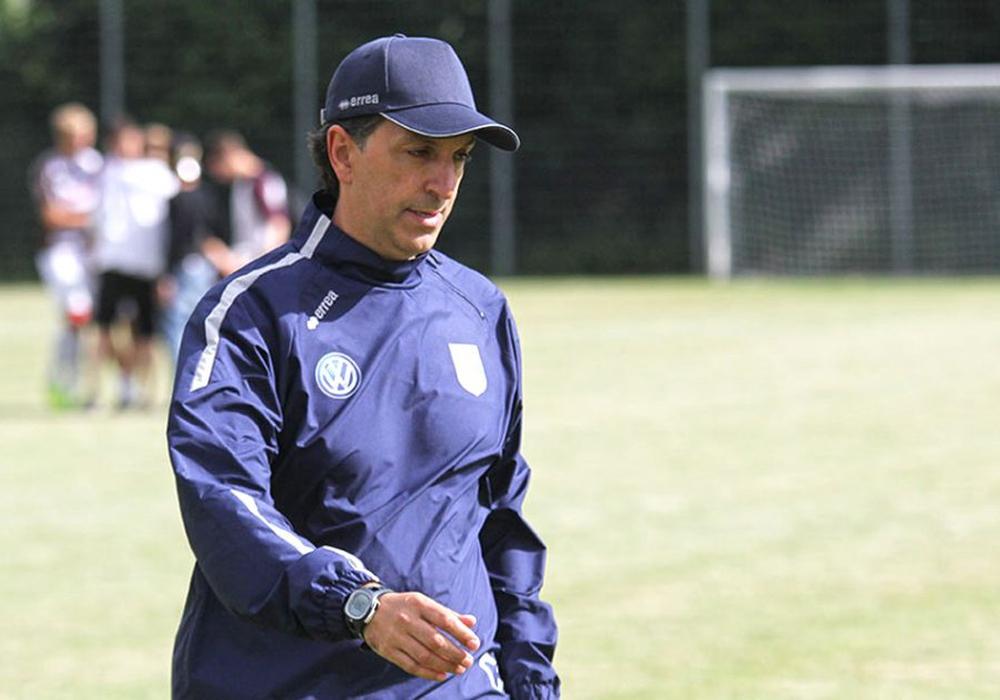 Hofft auf wichtige Punkte im Abstiegskampf im Spiel gegen Hannover 96 II: Francisco Coppi. Foto: Vollmer