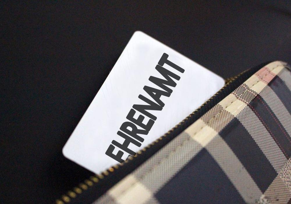 Ehrenamtskarte, Symbolbild, Foto: Archiv