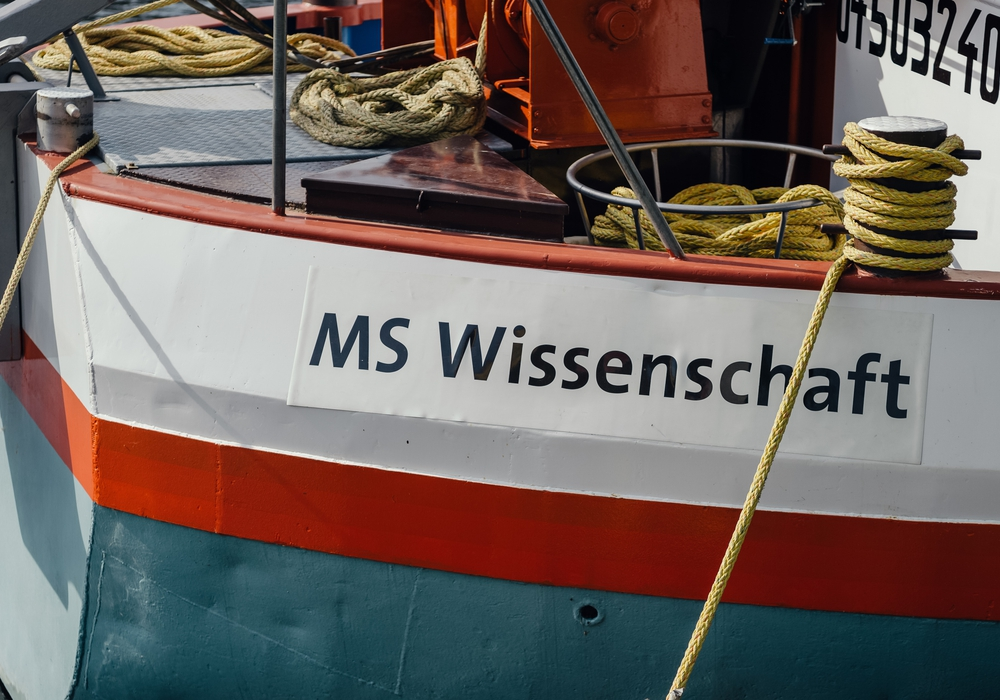 Experten diskutieren am 5. Juni an Bord der MS Wissenschaft in Wolfsburg. Foto: Ilja Hendel/WiD