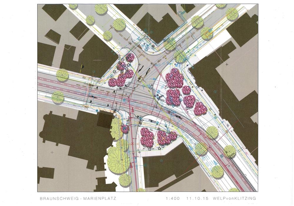 So sieht die aktuelle Planung aus. Foto: Stadt Braunschweig
