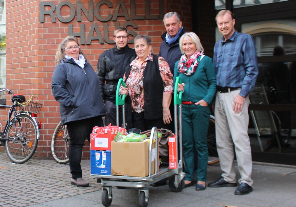 Angela Brämer, Maurice Brämer, Sigrid Berkau, Siegfried Putz, Marianne Effe, Dr. Werner Dobrzynski. Foto: Privat