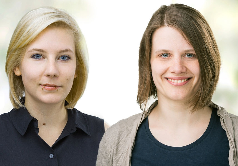 Imke Byl (l.) und Julia Willie Hamburg (r.). Foto: Grüne