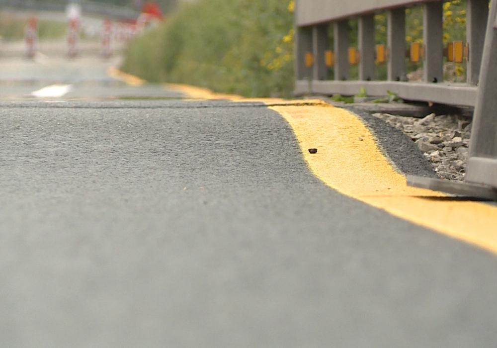 Fahrbahnabsenkung, schwellen, A7, Foto: aktuell24