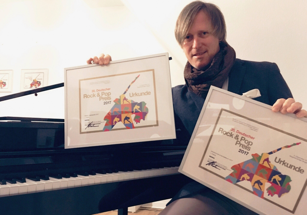 Der Braunschweiger Gero Wolter sicherte sich gleich zwei erste Plätze beim 35. Deutschen Rock und Pop Preis 2017. Foto: privat