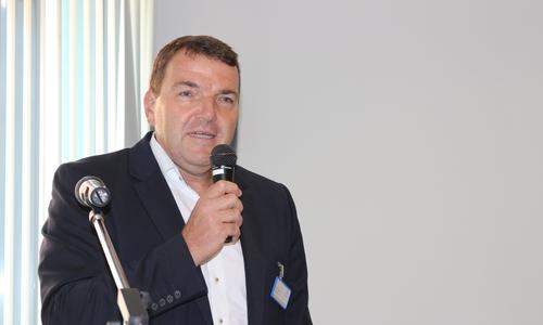 BuW-Vorsitzender Axel Burghardt, hier auf einem Archivfoto in seiner Funktion als Geschäftsführer des Städtischen Klinikums Wolfenbüttel.