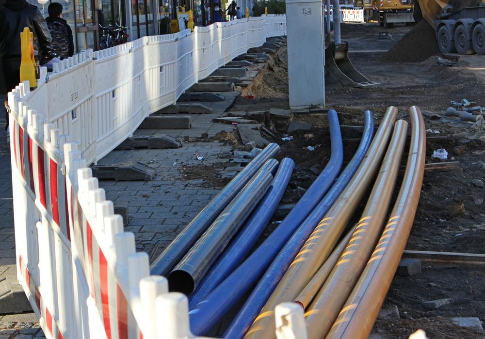 Im August beginnen die Arbeiten an den Trinkwasserleitung in der Schwicheldter Straße in Vöhrum . Symbolfoto: Alexander Panknin