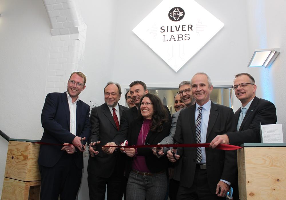 Offizielle Eröffnung des Labors. Fotos: Silver Labs