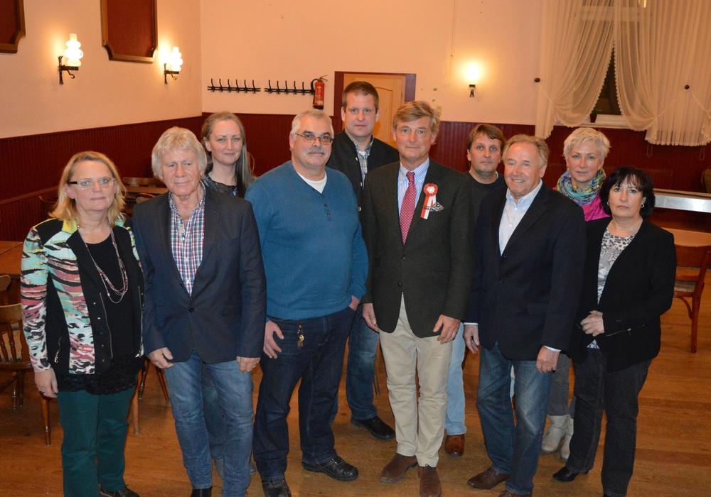 Der Rat der Gemeinde Veltheim (Ohe) für die Wahlperiode 2016-2021. Foto: Richert