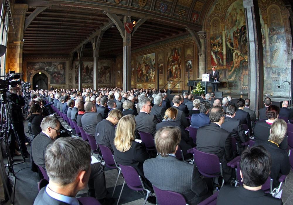 So sah die Eröffnung des Verkehrsgerichtstags 2015 aus. Foto: Uwe Epping