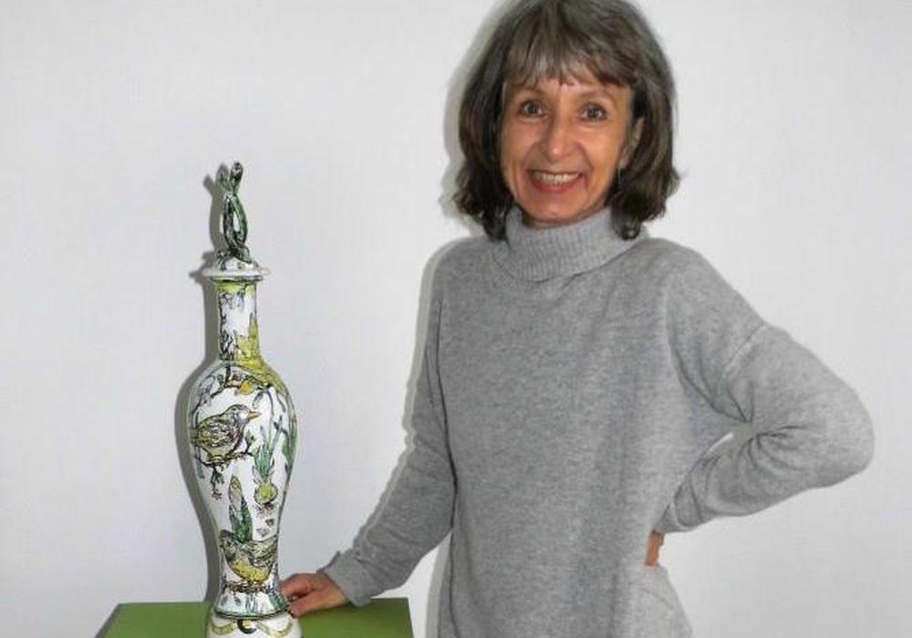 Sonngard Marcks und eine besondere Auswahl ihrer Arbeiten werden im Gärtnermuseum gezeigt. Foto: Andreas Meißler
