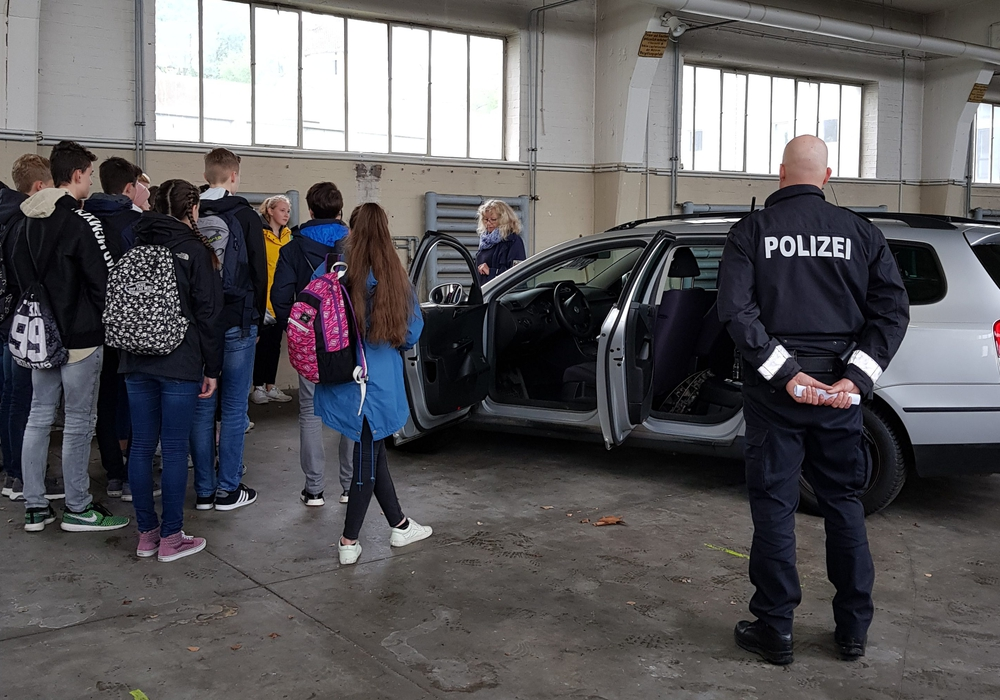 Spurensicherung der Kriminaltechnik war eines der Themen. Foto: Polizei Braunschweig