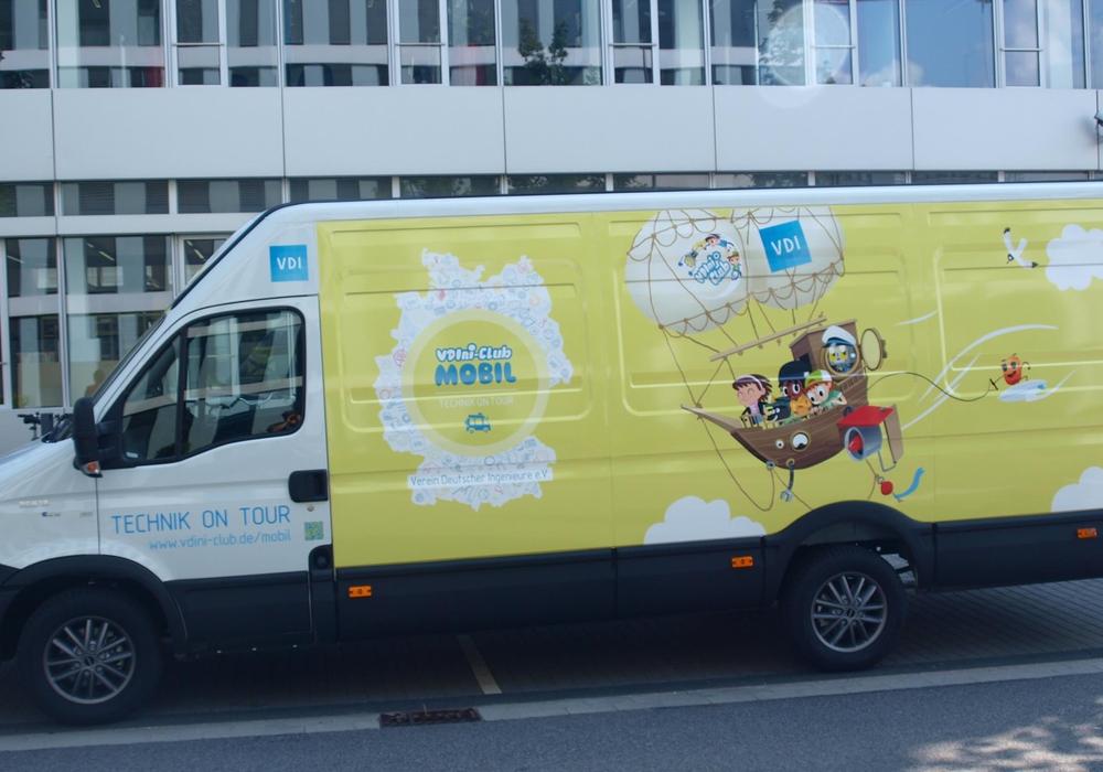Das VDIni-Mobil kommt nach Braunschweig. Foto:  Verein Deutscher Ingenieure e.V.