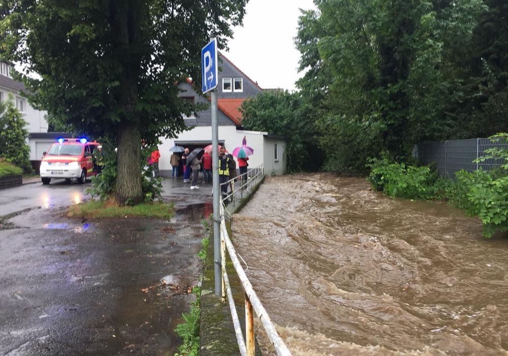 Die Feuerwehr war besonders in Vienenburg gefordert. Foto: Feuerwehr Goslar