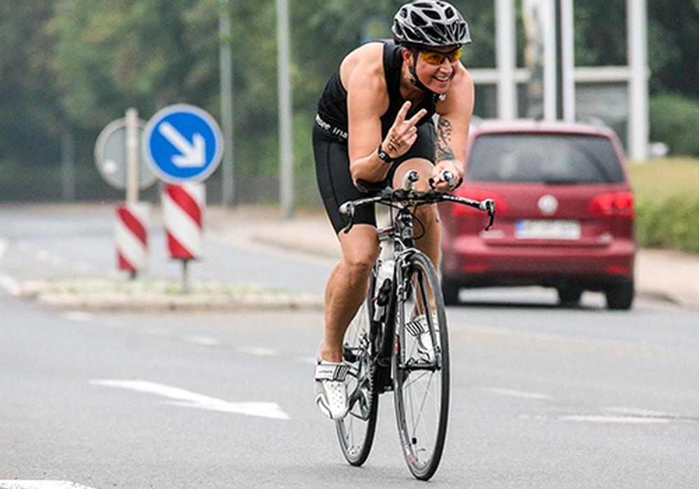 Umleitungen durch 19. LSV-Volksbank-Triathlon. Foto: Privat