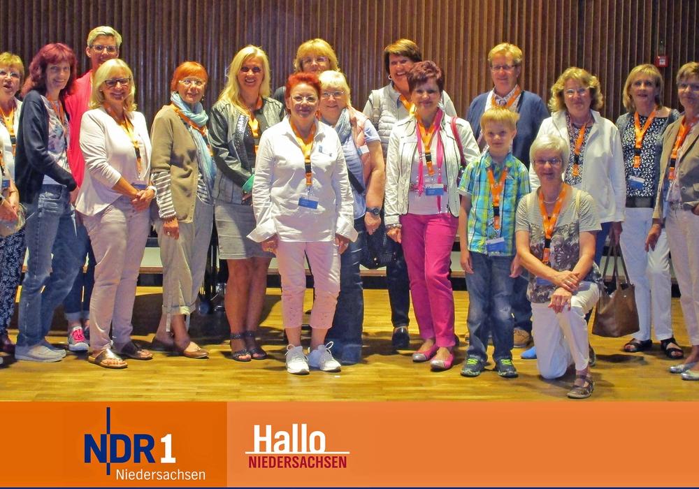 Wolfenbütteler Unternehmerfrauen im Handwerk zu Besuch im Landesfunkhaus. Foto: NDR
