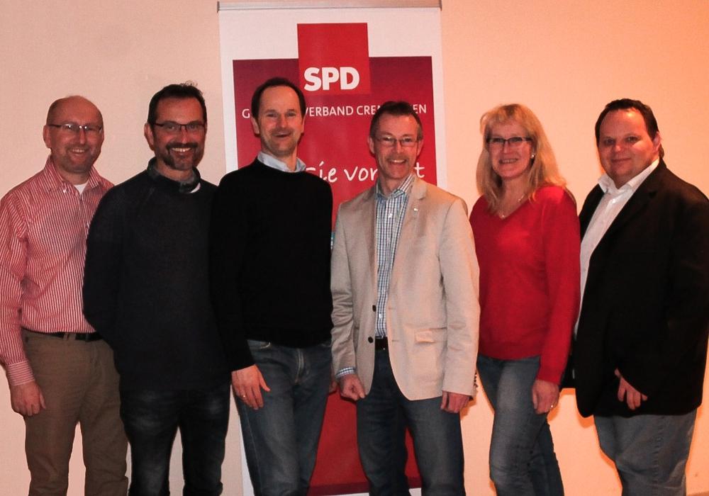 Matthias Franz, Lutz Bittner, Bernd Telm, Guido Zöllner, Ute Widow, Marco Schumann. Foto: Privat