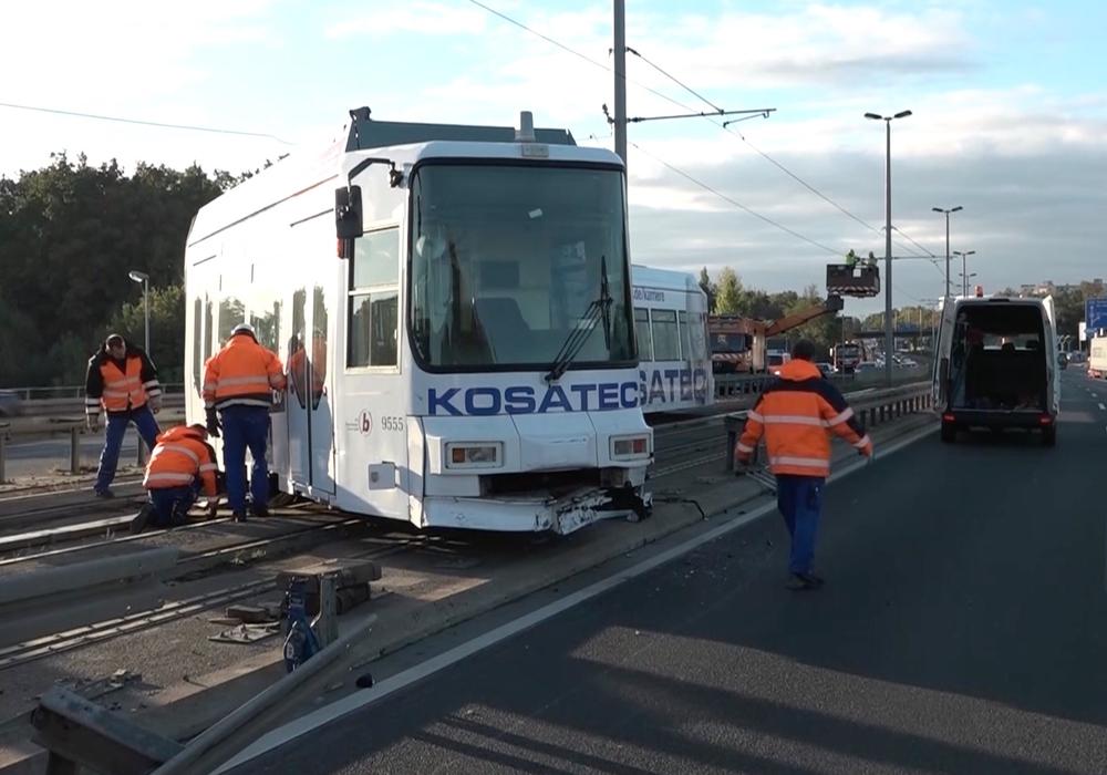 Bei dem Unglück wurden keine Personen verletzt Foto/Video: aktuell24 (MC)