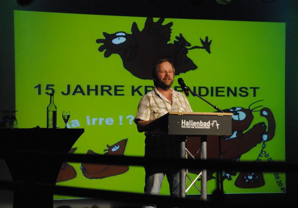 Manfred Grotzke, Mitarbeiter des AWO Psychiatriezentrums. Foto: Rüdiger Behrens