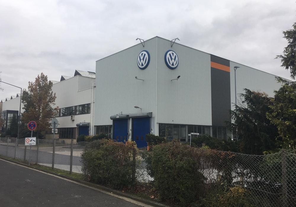 Der Volkswagen-Standort an der Hamburger Straße. Foto: Alexander Dontscheff