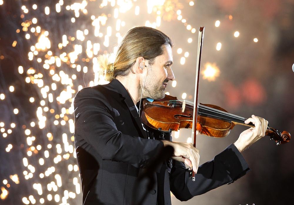 David Garrett bei seiner Show in der Volkswagenhalle. Fotos: Agentur Hübner