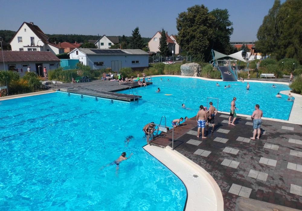 Das Freizeitbad Grasleben bleibt vorerst geschlossen. Foto: Samtgemeinde Grasleben