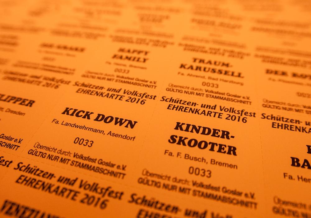 """""""Wer will nochmal, wer hat noch nicht?"""" - regionalHeute.de verlost Ehrenkarten für das Schützen- und Volksfest in Goslar. Foto: Alec Pein"""