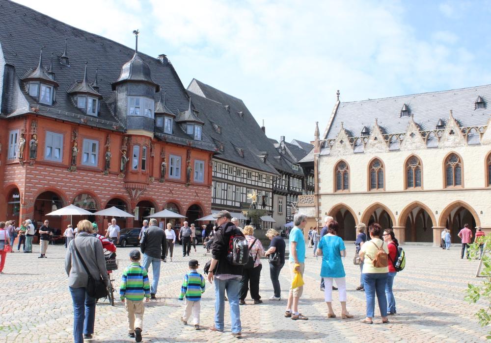 Am Wochenende ist wieder einiges los in und um Goslar. Wie wäre es mit einem in die Innenstadt von Goslar zum Sonntags-Shpping? Foto: Anke Donner