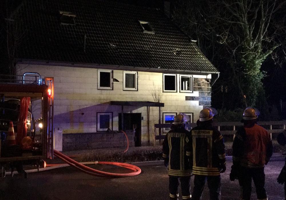 In Groß Ilsede brannte ein leerstehendes Haus. Foto: aktuell24/bm