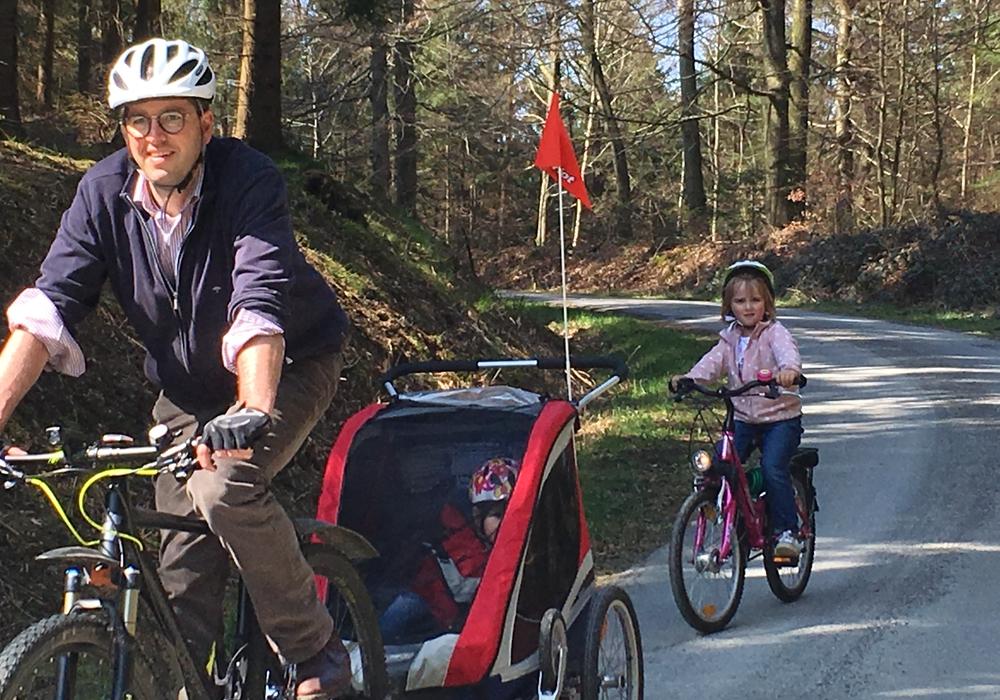 Dr. Oliver Junk ist gern auf dem Fahrrad unterwegs. Warum nicht mal mit interessierten Bürgerinnen und Bürgern? Foto: Stadt Goslar