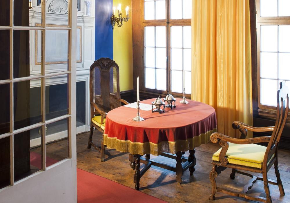 Konferenzkabinett, Herzogappartement, Foto: Thomas Sing