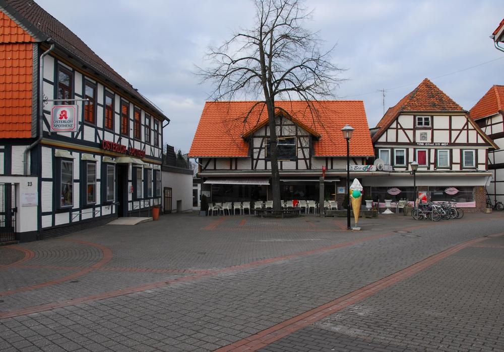 Fallersleben - Bebauung im Bereich der Altstadt an der Westerstraße. Foto: Strauß Fischer Historische Bauwerke
